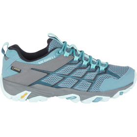 Merrell Moab FST 2 GTX - Chaussures Femme - gris/turquoise